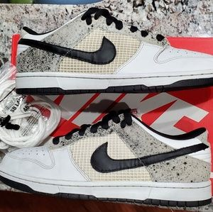 Rare! Jordan 4 Dunk Cement Low